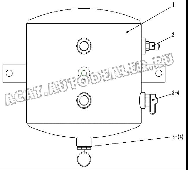 CHARGE VALVE FOR TIRE 4120000742 для SDLG LG916
